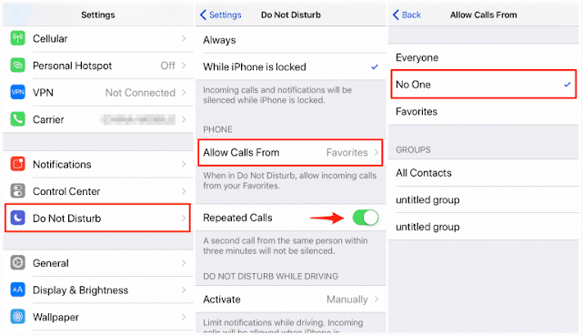 2 Easy Way to Block Unknown Callers on your iPhone