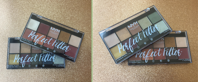 NYX Perfect Filter Shadow Palettes