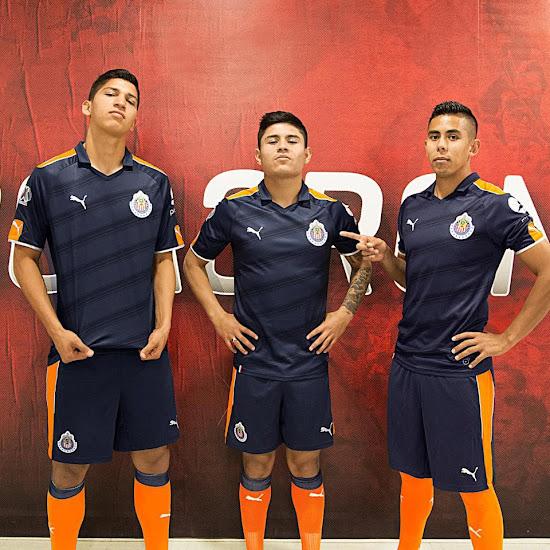 watch 0badb b94d4 Chivas 2017 Third Kit Released - Leaked Soccer Cleats