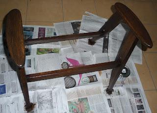 renowacja fotela chierowskiego 366