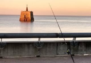 Pescar en la Costanera de Buenos Aires