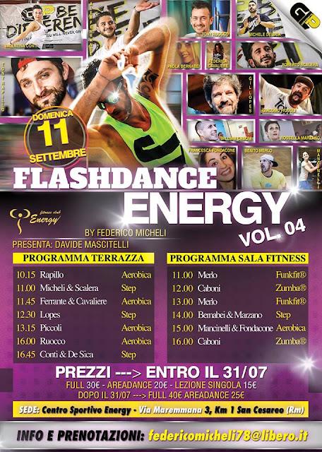 Flashdance Energy 4 di Federico Micheli, 11 settembre 2016 a San Cesareo, Roma