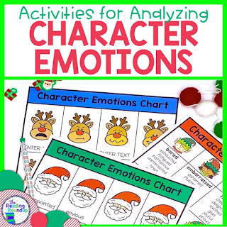 Are you looking for a fun Christmas activities? Students will LOVE these engaging activities using emotions to enhance their comprehension, fluency, vocabulary, and writing skills.