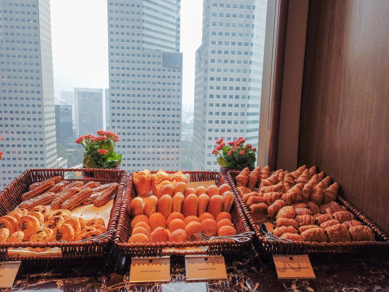 Conrad Centennial Singapore Breakfast