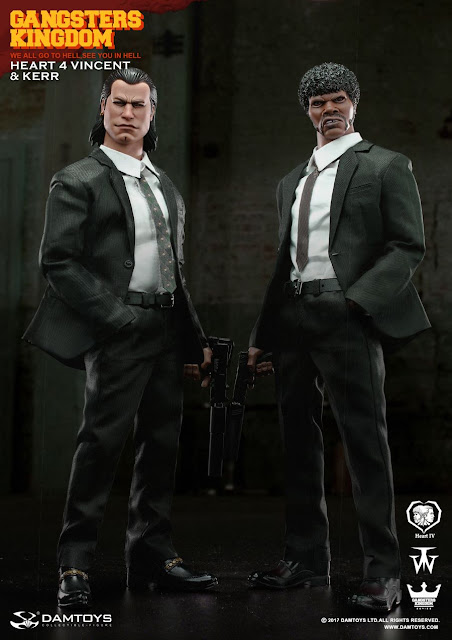 osw.zone DAM GY015 Gangsters Kingdom 1/6 Scale Heart 4 Vincent & Kerr 12 inch figures