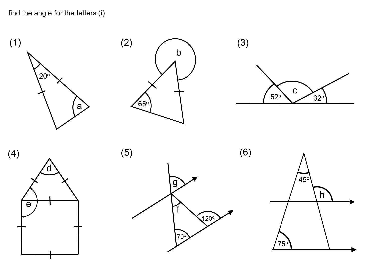 Median Practice And Quiz Questions Angle Questions