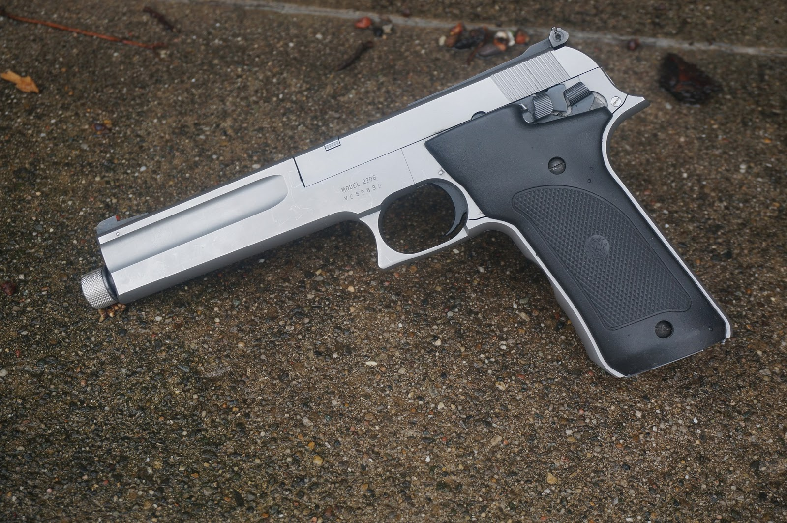 Since the discontinuation of the ill-fated Model 61 Escort in '73 and well  into the '80s, Smith & Wesson didn't have any rimfire self-loading pistols  other ...