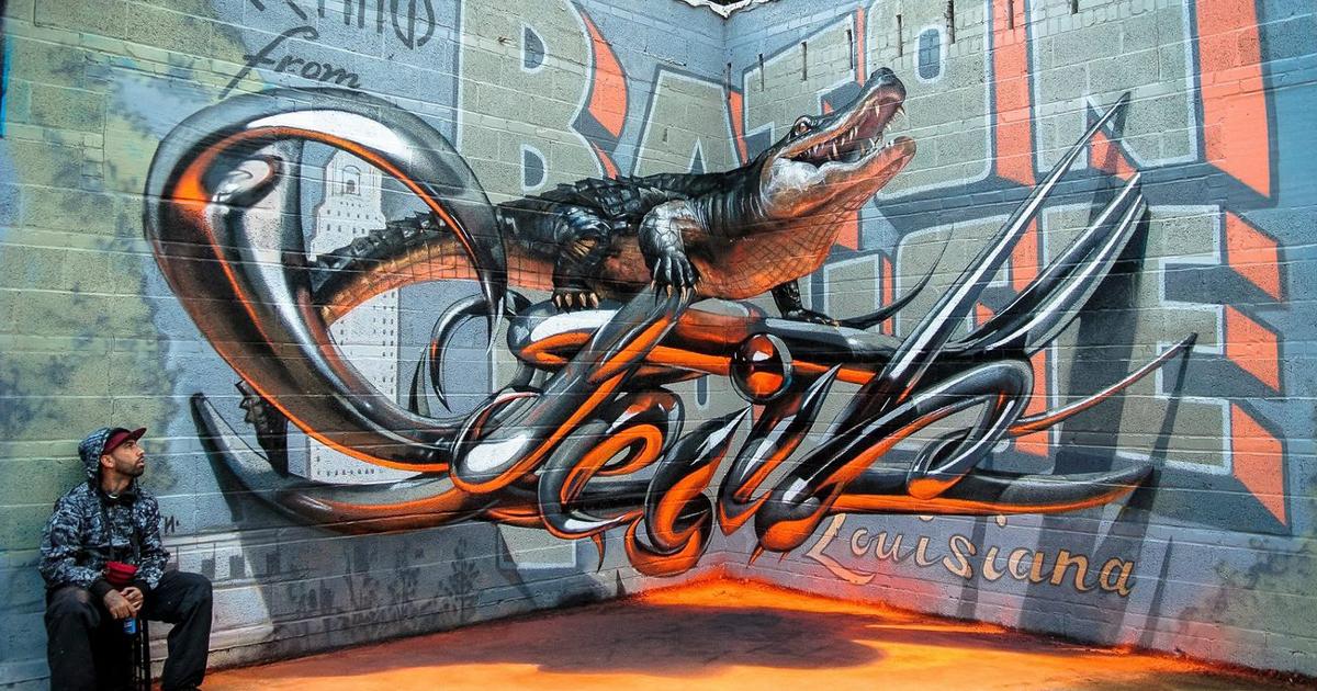 Jenis Grafiti 3D