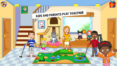 MY TOWN : BEST FRIENDS' HOUSE GAMES FOR KIDS (FULL, PAID) APK DOWNLOAD