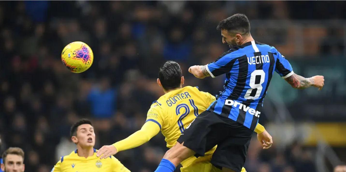موعد مباراة انتر ميلان وهيلاس فيرونا في الدوري الايطالي