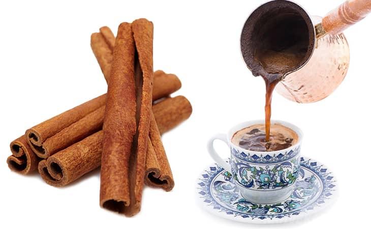 evde hızlı ve pratik toz tarçınlı Türk kahvesi yapımı - www.kahvekafe.net