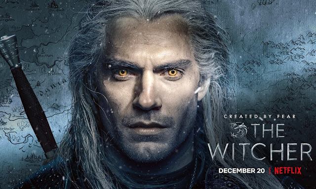 henry cavill poster the witcher
