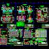 Bản vẽ chi tiết thiết kế hệ thống xử lý nước thải