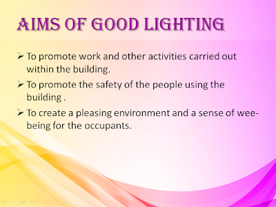 LIGHTING BUILDING SERVICE PPT