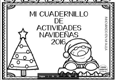 CUADERNILLO DE ACTIVIDADES NAVIDEÑAS