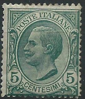 Italy 5 centesimi King Victor Emmanuel III