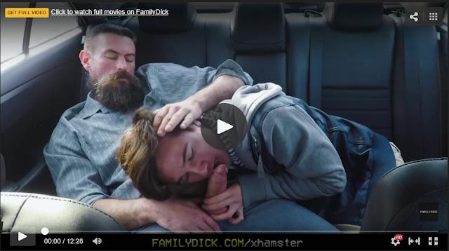 sexo en el auto padre e hijo