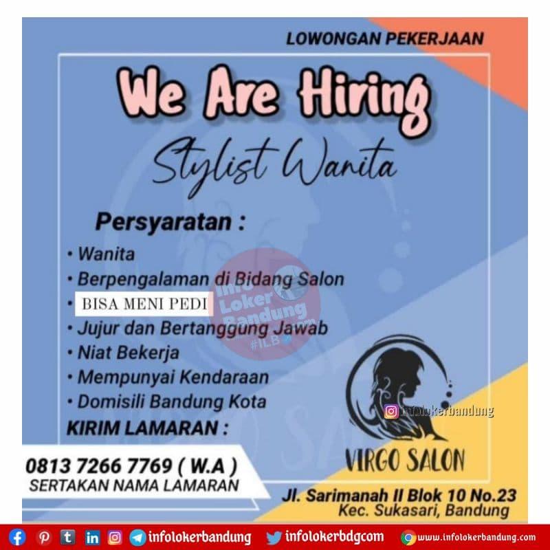 Lowongan Kerja Virgo Salon Bandung Juni 2021