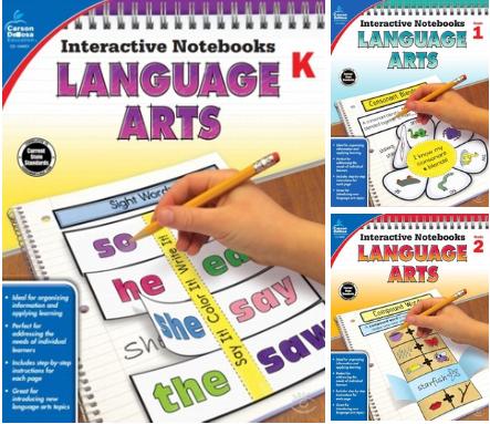 Notebooks Language Arts (Grades K, 1, 2)