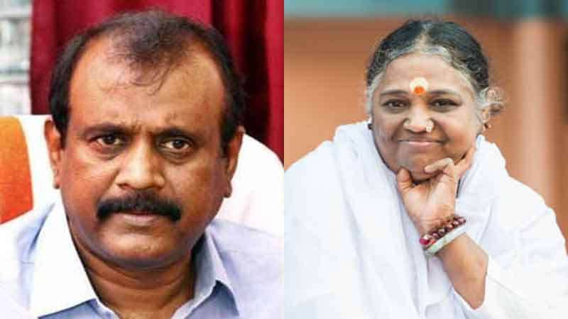 What does it mean when God stops hugging and shutting down the Temple of God? Senkumar said that if there is anything wrong with the mother, the mockery should be shown to her,www.thekeralatimes.com