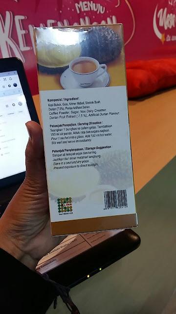 kopi untuk kesehatan rasa durian