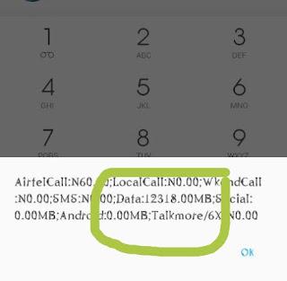 Airtel 10GB for N500