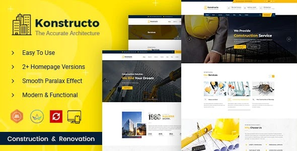 Construction and Architecture WordPress Theme