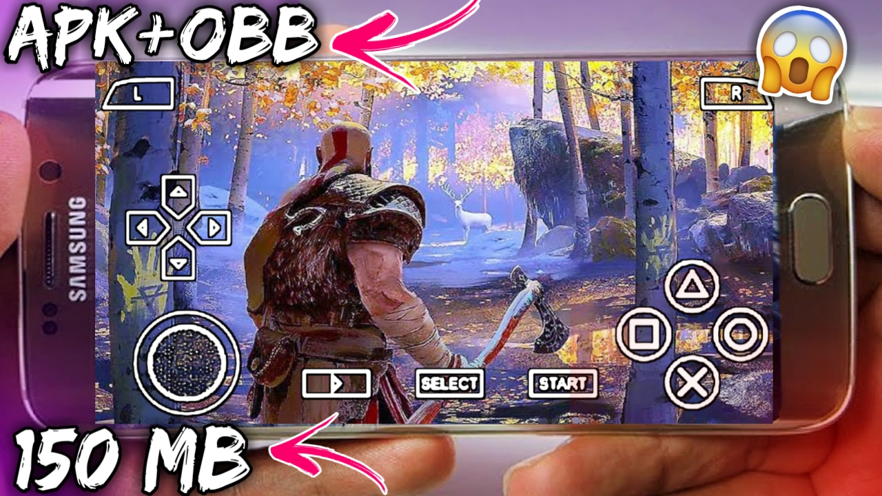 Download God Of War 4 Apk+Obb For Android