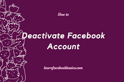 Deactivate Facebook Account Temporarily - Step by Step #DeactivateFacebook