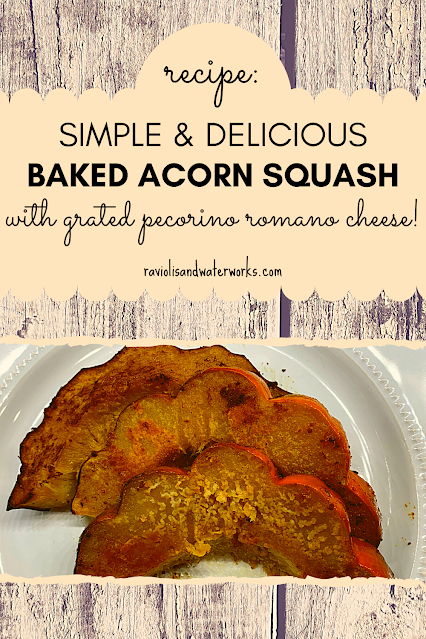 how to make a delicious acorn squash in the oven