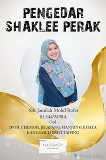 jamilah rofei agen shaklee Malaysia