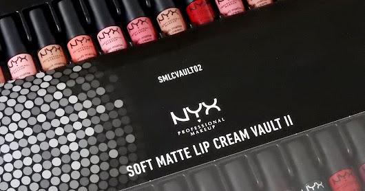 NYX Soft Matte Lip Cream Vault II Lip Swatches ♡
