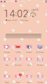 Tema Hello Kitty Android