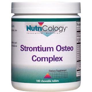 ストロンチウムのサプリメント