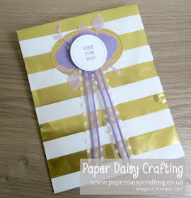Pretty Label Punch Stampin Up