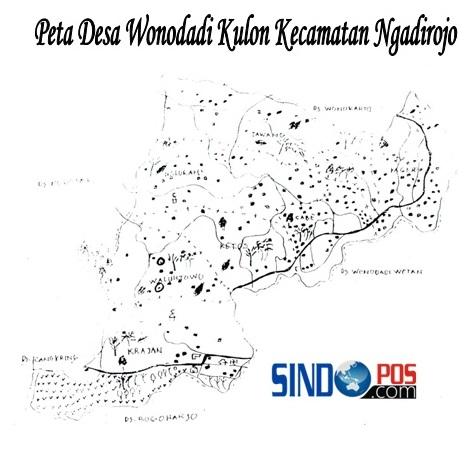 Profil Desa & Kelurahan, Desa Wonodadi Kulon Kecamatan Ngadirojo Kabupaten Pacitan