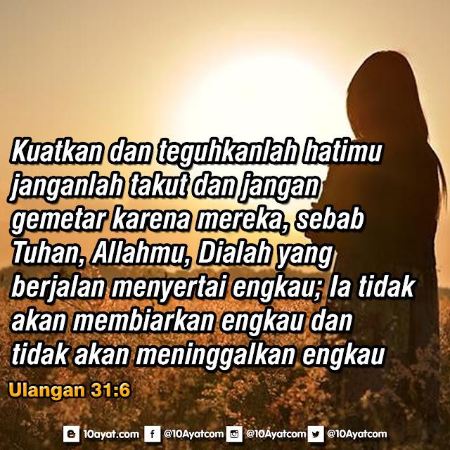 Ulangan 31:6