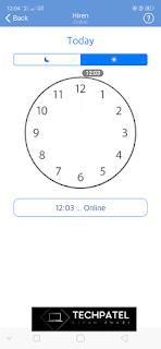 HOW LONG TIME GF WAS ONLINE ON WHATSAPP    GF कितने समय से WHATSAPP  पर ऑनलाइन थी