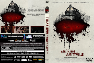 LOS ASESINATOS DE AMITYVILLE – THE AMITYVILLE MURDERS – 2018 [COVER – DVD]