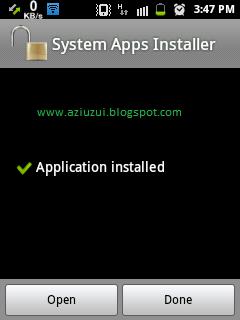 Cara Instal Apk ke System