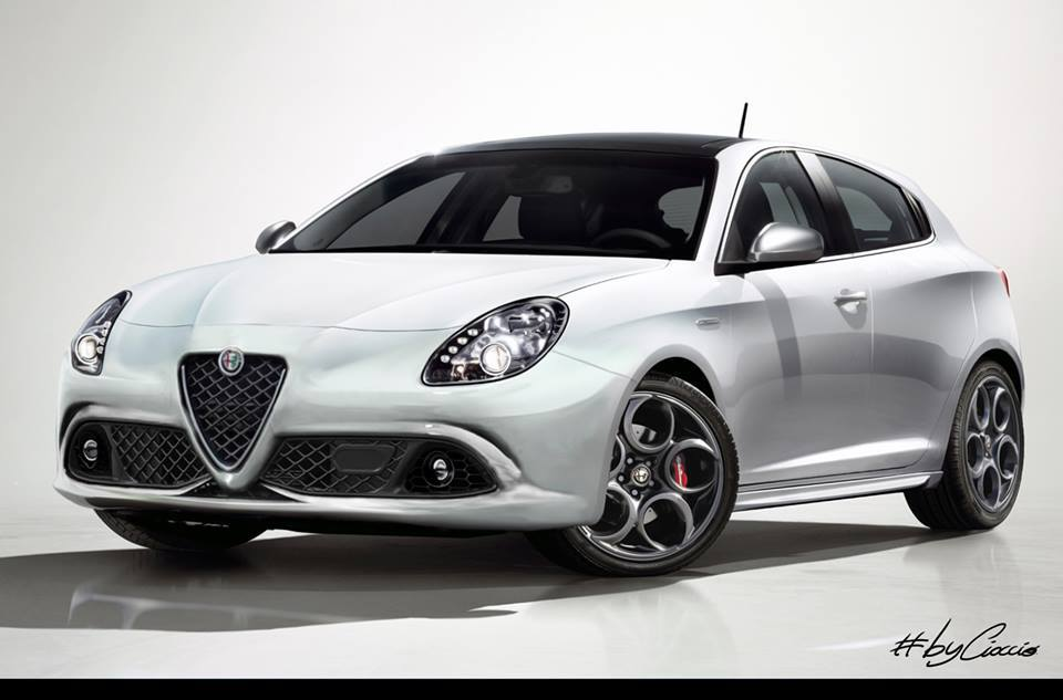 render alfa romeo giulietta restyling. Black Bedroom Furniture Sets. Home Design Ideas