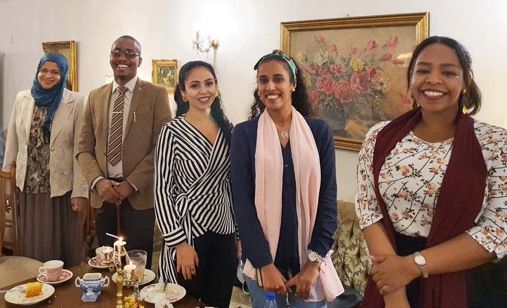 القيادات الشابة التنفيذية بالمكتب الخاص - السودان