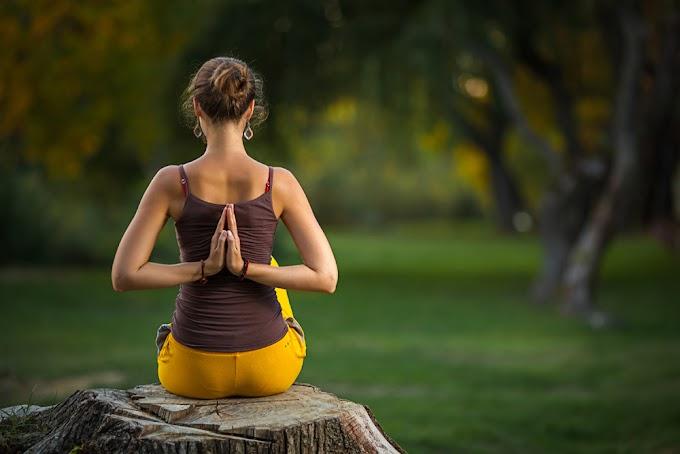 Paschima Namaste: Greeting behind Your Back Posture - From Tadasana's Posture 1
