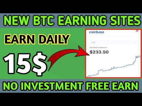 New Bitcoin Mining Site 2020 , Free Bitcoin Earning Site 2020 , Earn 0.005 BTC Without investment
