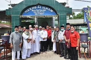 Bupati Batu Bara Hadiri Peletakan Batu Pertama Pembangunan Mesjid Al Ilham