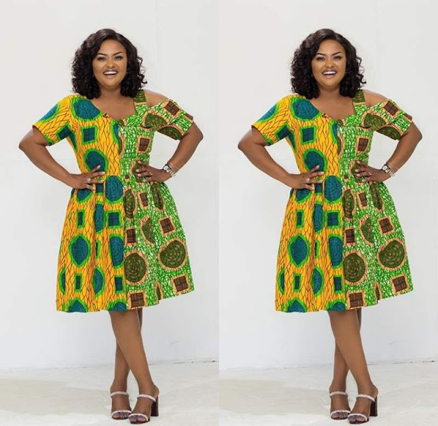 Latest Ankara short gown styles from Nana aka mc brown gallery