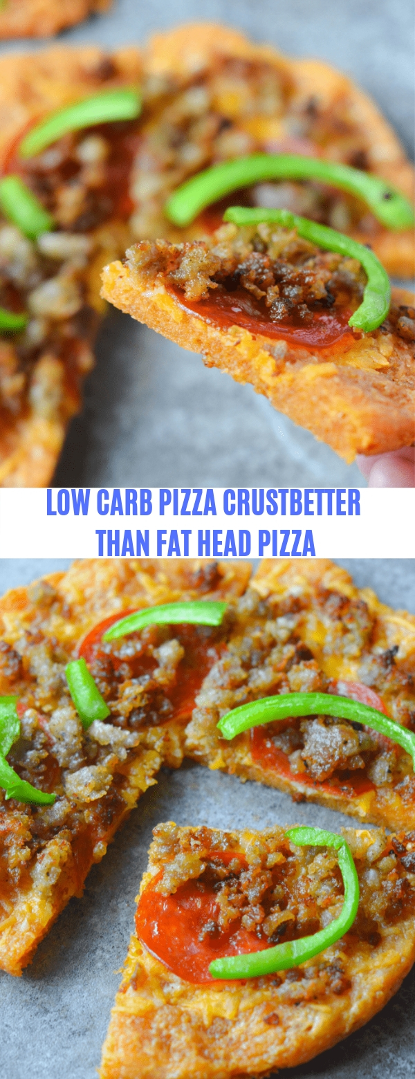 LOW CARB PIZZA CRUST BETTER THAN FAT HEAD PIZZA