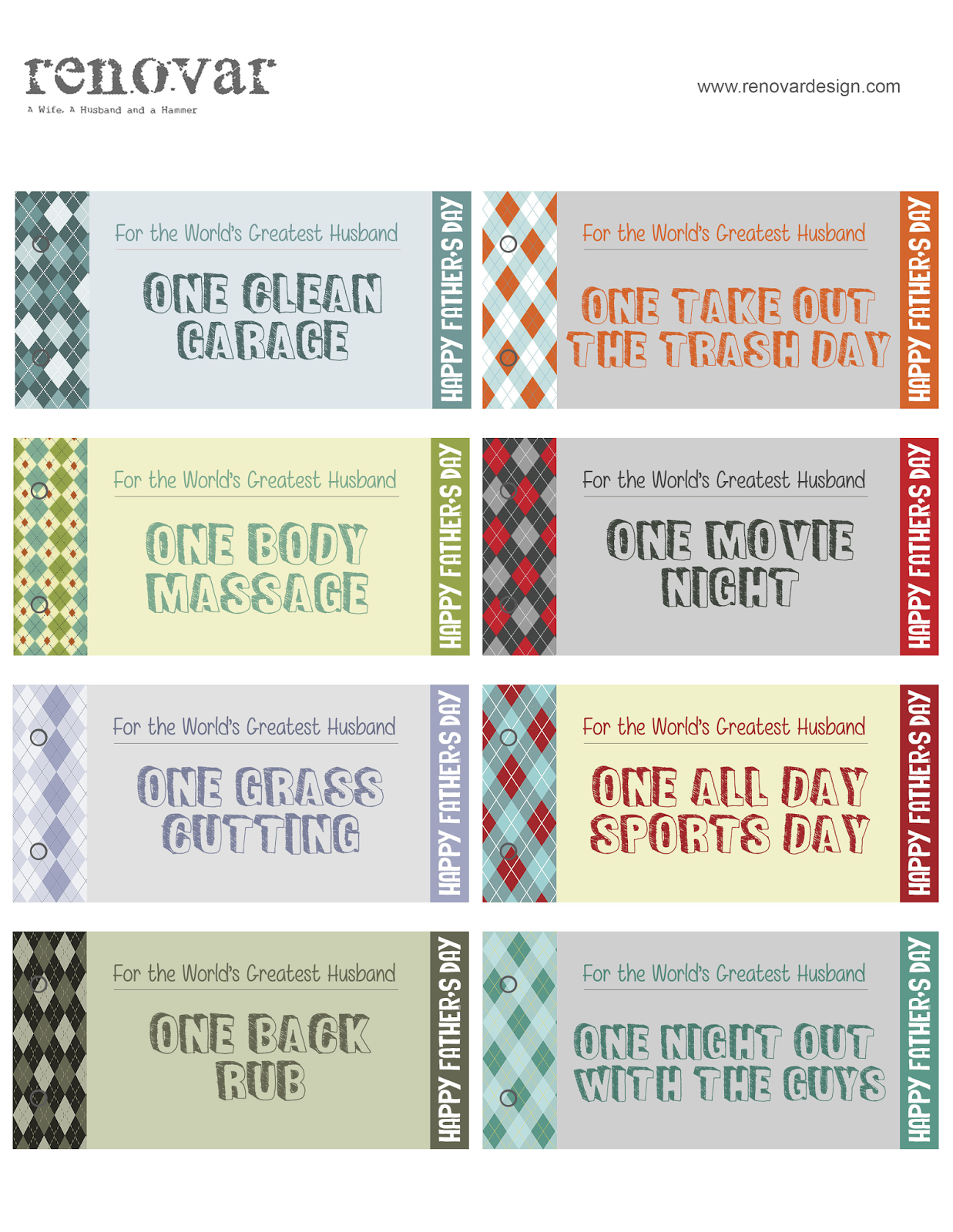 from gardners 2 bergers renovar father s day printable coupon book