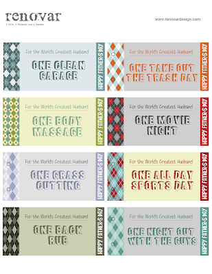 from Gardners 2 Bergers: Renovar: Father's Day Printable ...
