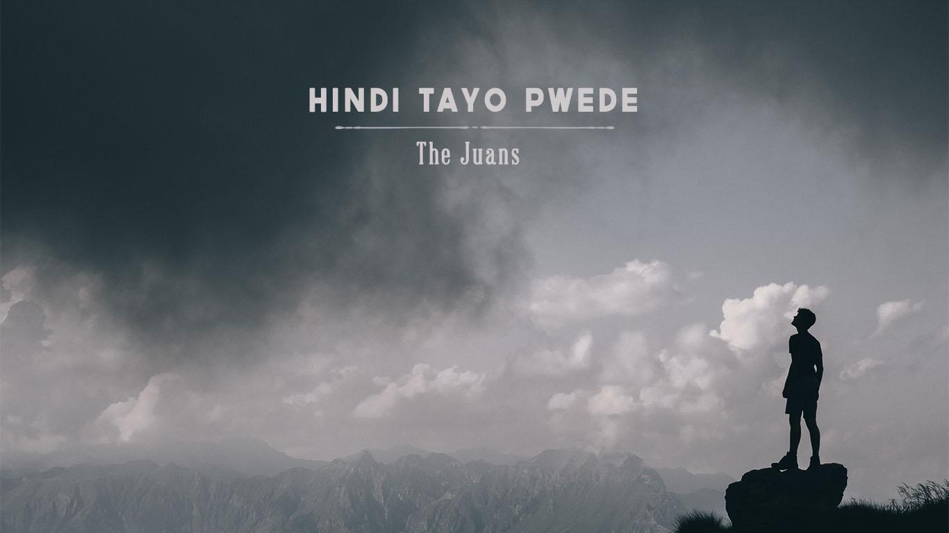 Man looking at the sky Hindi Tayo Pwede